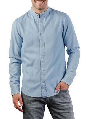 Scotch & Soda Chic Collarless Shirt 0089