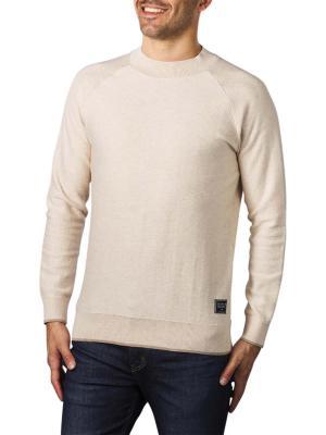 Scotch & Soda Classic High Neck Pullover beige