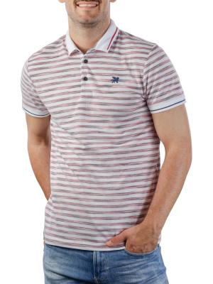 Vanguard Short Sleeve Polo Pique mercerized stripe