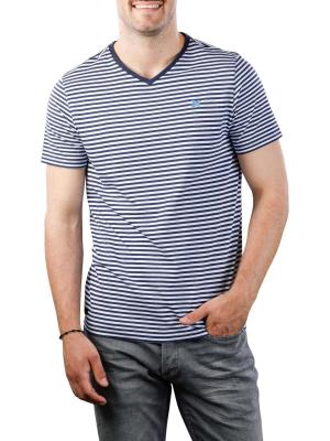 Vanguard V-Neck Single Jersey stretch melange