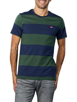 Levi's SS Original T-Shirt rugby stripe dress