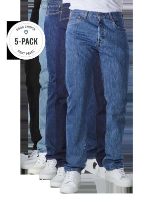 Levi's 501 Jeans stone/black/rinse/light/dark Big Five