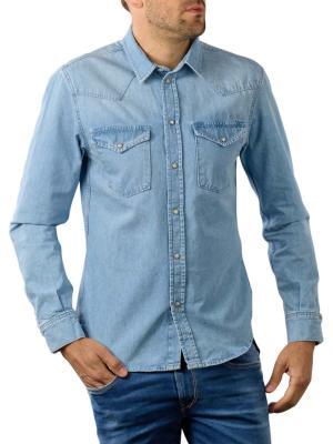 Pepe Jeans Noah Shirt Denim blue