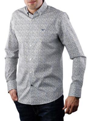 PME Legend Long Sleeve Shirt Poplin Print 6395