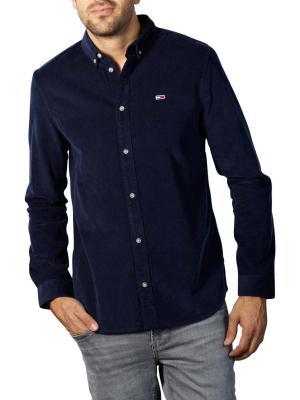 Tommy Jeans Corduroy Shirt twilight navy