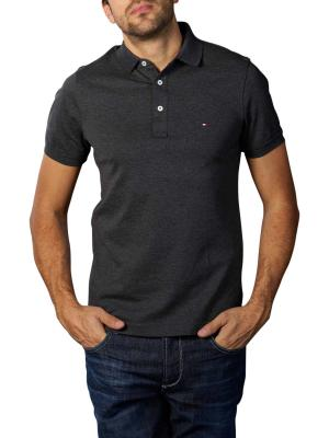 Tommy Hilfiger Slim Polo Shirt black heather