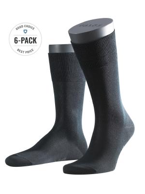 Falke 6-Pack Tiago black