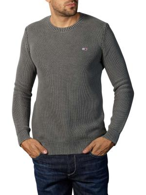 Tommy Jeans Essential Washed Pullover dark grey heather