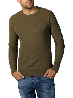Tommy Hilfiger Honeycomb Sweater Crew Neck utility love