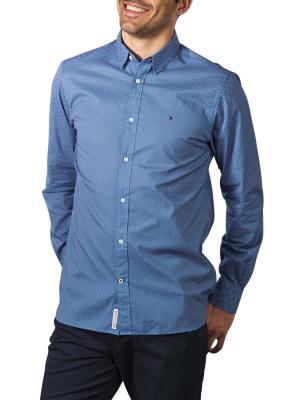 Tommy Hilfiger Flex Geo Floral Shirt blue/white/navy