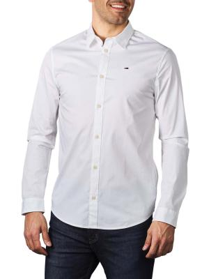 Tommy Jeans Original Stretch Shirt classic white