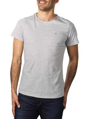 Tommy Jeans T-Shirt Slim Jaspe light grey