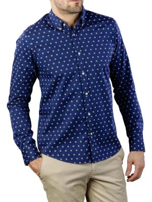 Scotch & Soda Shirt Mini All-Over Jacquard Pattern 0218
