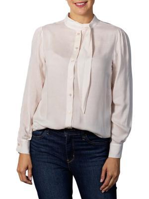 Yaya Pussy Bow Shirt pale pink