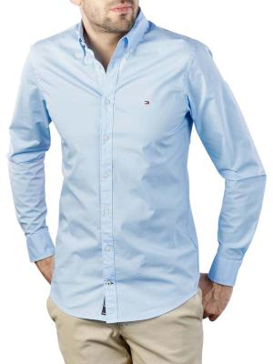 Tommy Hilfiger Core Stretch Slim Poplin Shirt blue
