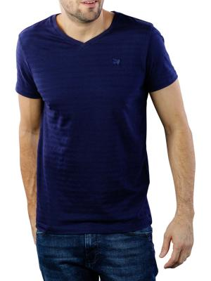 Vanguard V-Neck Jersey Structure Stripe 5318