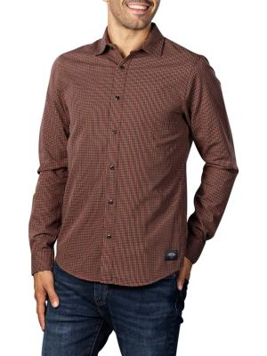 Scotch & Soda Structured Check Shirt 0217