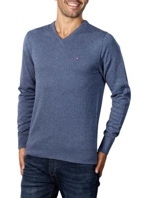 Tommy Hilfiger Pima Cotton Cashmere Sweater faded indigo