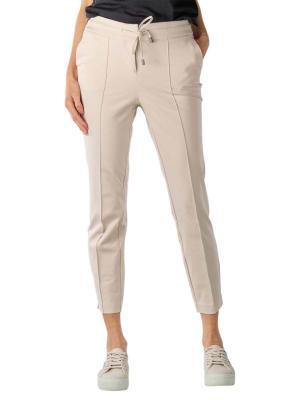 Yaya Jersey Tailored Trousers pebble
