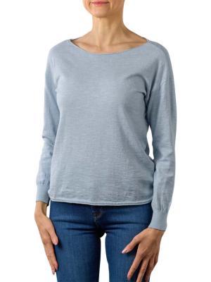 Yaya Cotton Cashmere Blend Sweater misty blue