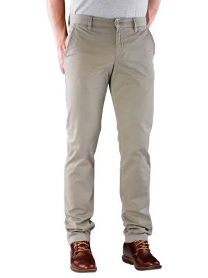 Alberto Lou Pant Slim Compact Cotton olive