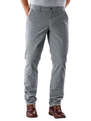 Alberto Lou Pant Dark Warp light grey