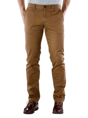 Alberto Lou Pant Pima Cotton brown melange