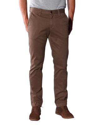 Alberto Lou Pima Cotton Pants brown