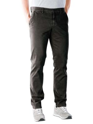 Alberto Lou Pant Slim Broken Twill brown