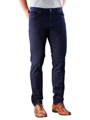 Alberto Pipe Jeans Slim Overdyed dark blue