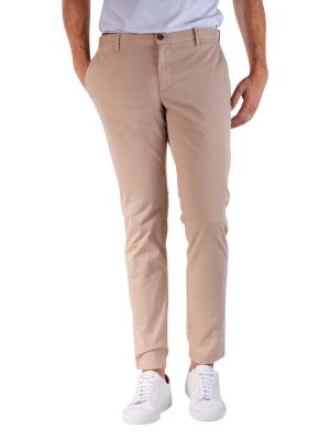 Alberto Rob Pants Slim Broken Twill beige