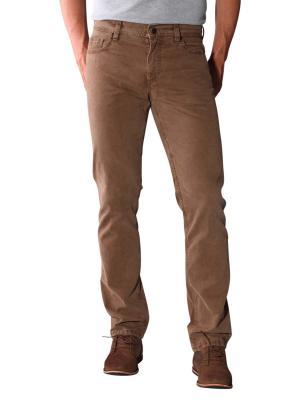 Alberto Pipe Jeans Broken Twill Stretch brown