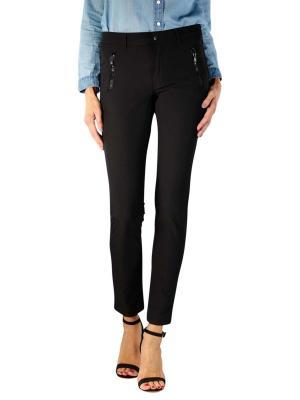 Angels Skinny Jeans Pocket Zip everblack