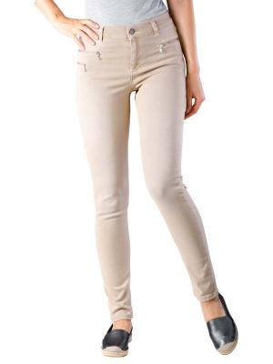 Angels Malu Zip Jeans Slim light camel used