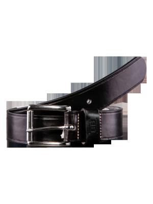 Pat black 40mm by BASIC BELTS