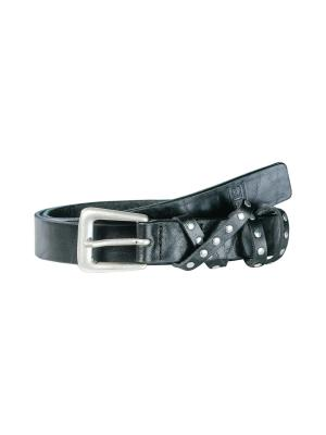 Robin black 25mm by BASIC BELTS