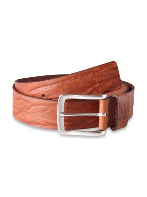 Frank cognac vintage 40mm by BASIC BELTS