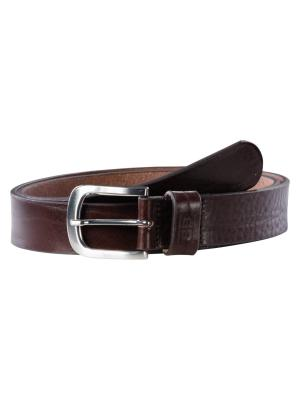 Franky dark brown 35mm by BASIC BELTS