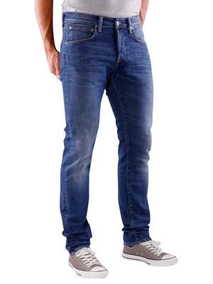 Edwin ED-55 Jeans Night Blue Denim blue mid trip used