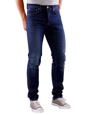 Edwin ED-80 Jeans Night Blue Denim dark trip used