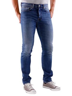 Edwin ED-80 Jeans Night Blue Denim mid trip used