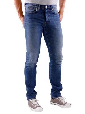 Edwin ED-80 Jeans Night Blue Denim mid trip used
