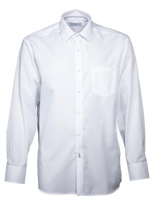 Einhorn Chemise Derby Regular Fit sans repassage white