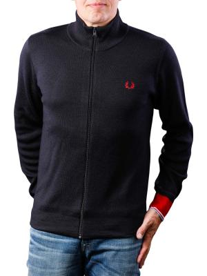 Fred Perry Cardigang zip navy