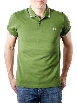 Fred Perry Twin Tipped Polo Shirt verde/white