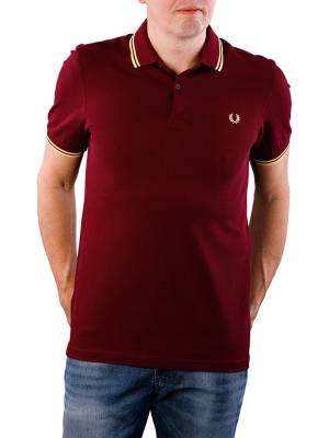 Fred Perry Twin Tipped Shirt aubergine