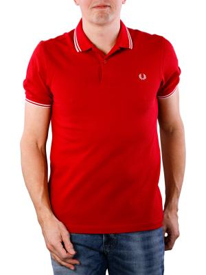 Fred Perry Twin Tipped Shirt pomegranate