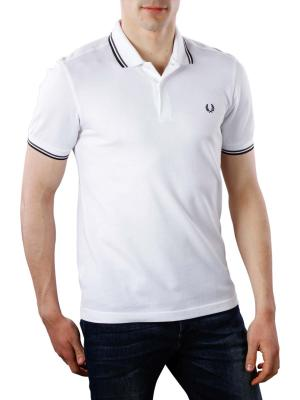 Fred Perry Twin Tipped Polo Shirt white/slate/black