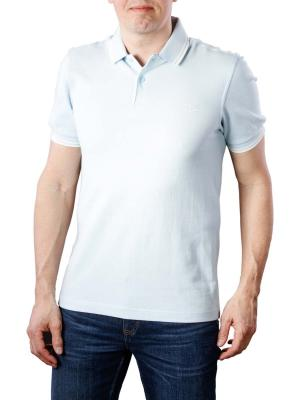Fred Perry Twin Tipped Polo Shirt sky blue oxford/ecru/ecru