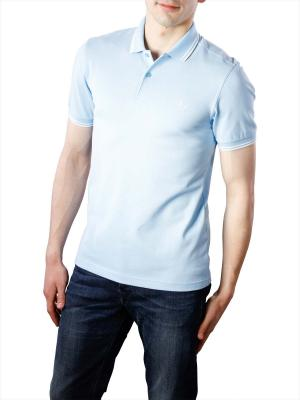 Fred Perry Twin Tipped Polo Shirt sky blue/ecru